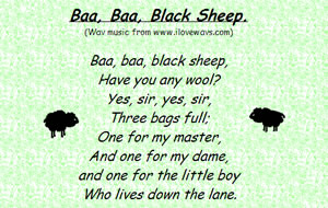 Baa Black Sheep Midi